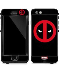 Deadpool Logo Black LifeProof Nuud iPhone Skin