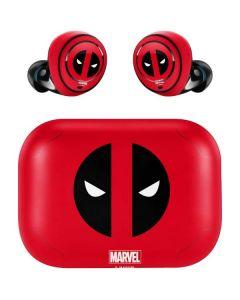 Deadpool Logo Red Amazon Echo Buds Skin