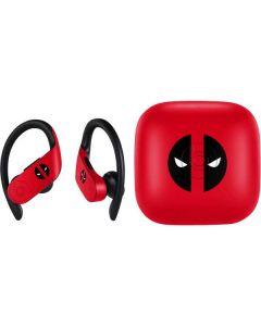 Deadpool Logo Red PowerBeats Pro Skin
