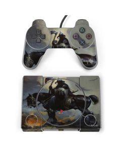 Death Dealer on Horseback PlayStation Classic Bundle Skin