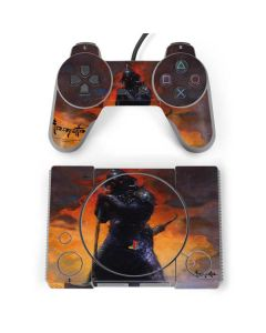 Death Dealer PlayStation Classic Bundle Skin