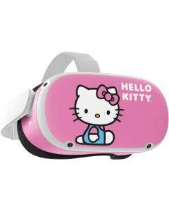 Hello Kitty Sitting Pink Oculus Quest 2 Skin