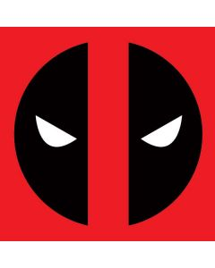 Deadpool Logo Red Dell Inspiron Skin