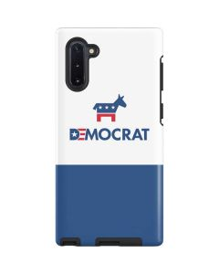 Democrat Blue And Red Galaxy Note 10 Pro Case