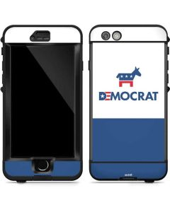 Democrat Blue And Red LifeProof Nuud iPhone Skin