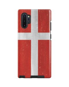 Denmark Flag Distressed Galaxy Note 10 Plus Pro Case