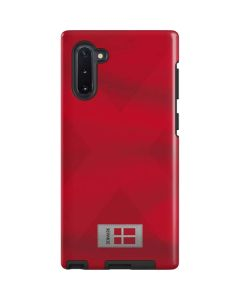 Denmark Soccer Flag Galaxy Note 10 Pro Case