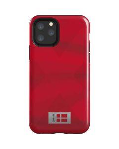 Denmark Soccer Flag iPhone 11 Pro Impact Case