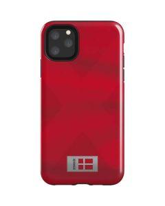 Denmark Soccer Flag iPhone 11 Pro Max Impact Case