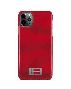 Denmark Soccer Flag iPhone 11 Pro Max Lite Case