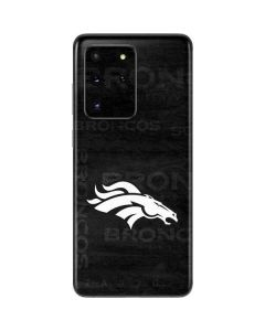 Denver Broncos Black & White Galaxy S20 Ultra 5G Skin