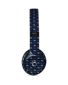 Denver Broncos Blitz Series Beats Solo 2 Wired Skin