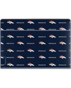 Denver Broncos Blitz Series Galaxy Book Keyboard Folio 12in Skin