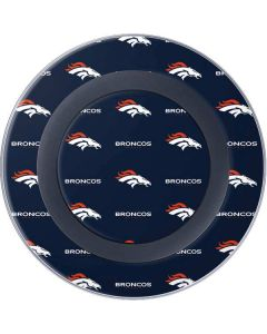 Denver Broncos Blitz Series Wireless Charger Skin
