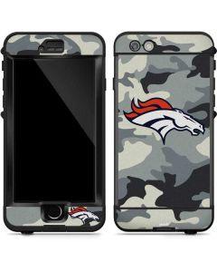 Denver Broncos Camo LifeProof Nuud iPhone Skin