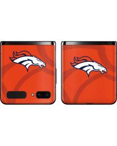 Denver Broncos Double Vision Galaxy Z Flip Skin