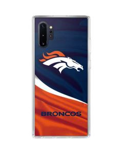 Denver Broncos Galaxy Note 10 Plus Clear Case