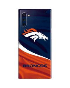 Denver Broncos Galaxy Note 10 Skin