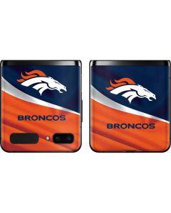 Denver Broncos Galaxy Z Flip Skin
