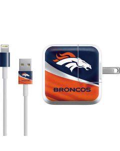 Denver Broncos iPad Charger (10W USB) Skin