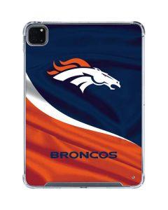 Denver Broncos iPad Pro 11in (2020) Clear Case