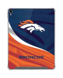 Denver Broncos iPad Pro 12.9in (2018-19) Clear Case