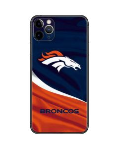 Denver Broncos iPhone 11 Pro Max Skin