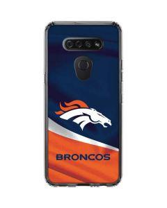 Denver Broncos LG K51/Q51 Clear Case