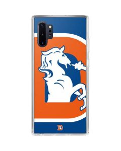 Denver Broncos Retro Logo Galaxy Note 10 Plus Clear Case