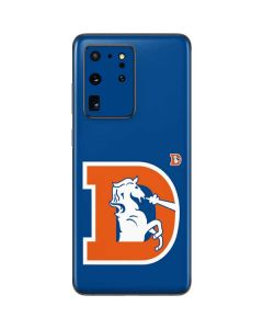 Denver Broncos Retro Logo Galaxy S20 Ultra 5G Skin