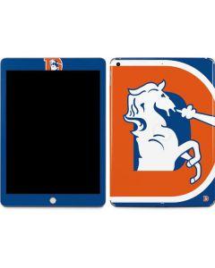 Denver Broncos Retro Logo Apple iPad Skin