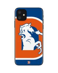 Denver Broncos Retro Logo iPhone 11 Skin