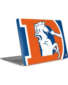 Denver Broncos Retro Logo Apple MacBook Air Skin