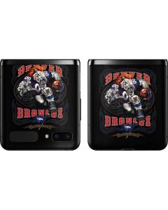 Denver Broncos Running Back Galaxy Z Flip Skin