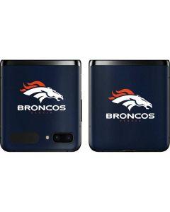 Denver Broncos Team Jersey Galaxy Z Flip Skin