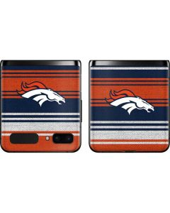 Denver Broncos Trailblazer Galaxy Z Flip Skin