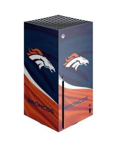 Denver Broncos Xbox Series X Console Skin
