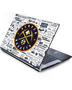 Denver Nuggets Historic Blast Generic Laptop Skin
