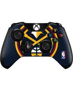 Denver Nuggets Large Logo Xbox One Controller Skin