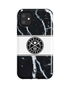 Denver Nuggets Marble iPhone 11 Impact Case
