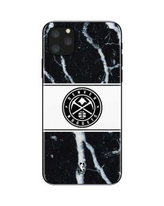 Denver Nuggets Marble iPhone 11 Pro Max Skin