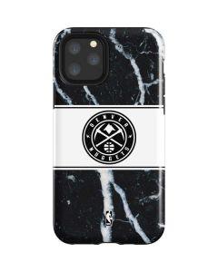Denver Nuggets Marble iPhone 11 Pro Impact Case