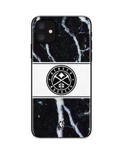 Denver Nuggets Marble iPhone 11 Skin