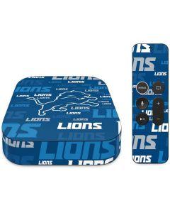 Detroit Lions - Blast Alternate Apple TV Skin