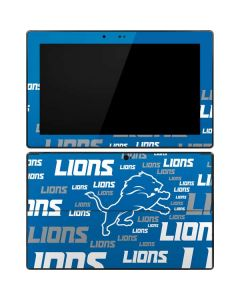 Detroit Lions - Blast Alternate Surface RT Skin
