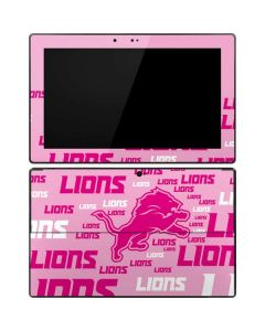 Detroit Lions - Blast Pink Surface RT Skin