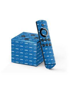 Detroit Lions Blitz Series Fire TV Cube Skin