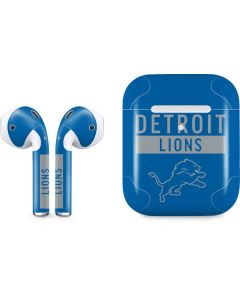 Detroit Lions Blue Performance Series Apple AirPods 2 Skin