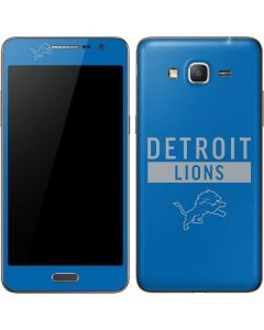 Detroit Lions Blue Performance Series Galaxy Grand Prime Skin