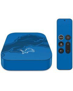 Detroit Lions Double Vision Apple TV Skin